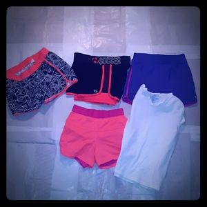 Justice Active Shorts Old Navy Package Girls 10-12